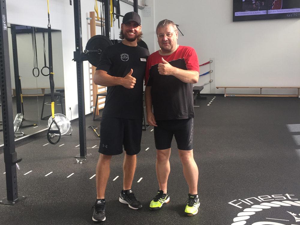 Erfolgsgeschichten Michael K. Finest Fitness Club Weinheim