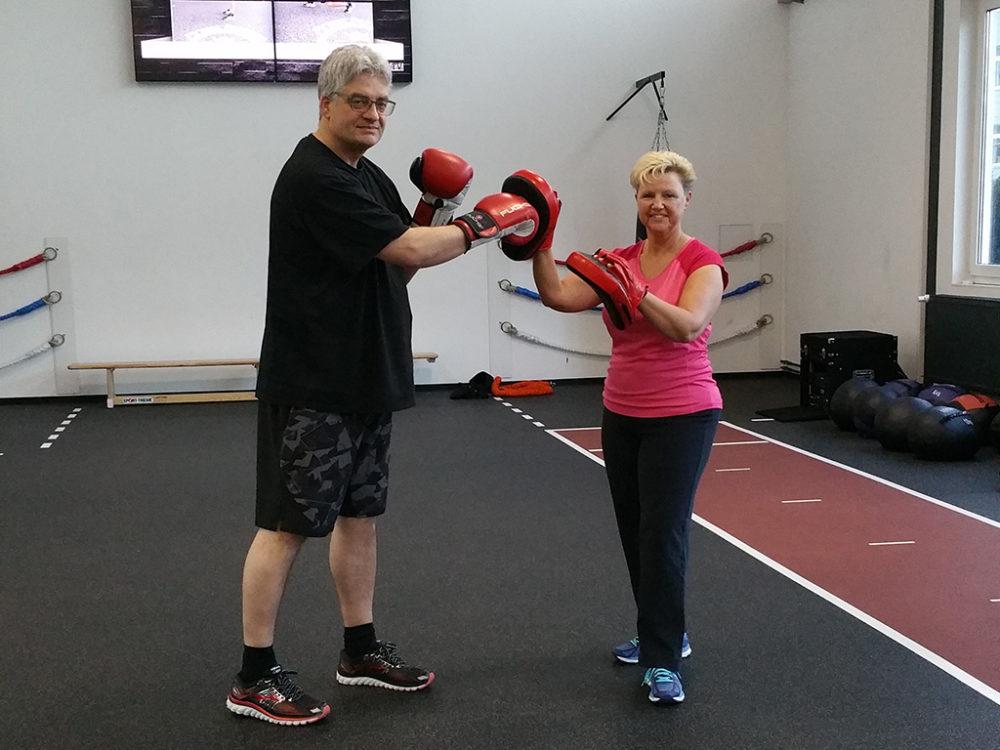 Erfolgsgeschichten Angelika & Klaus N. Finest Fitness Club Weinheim