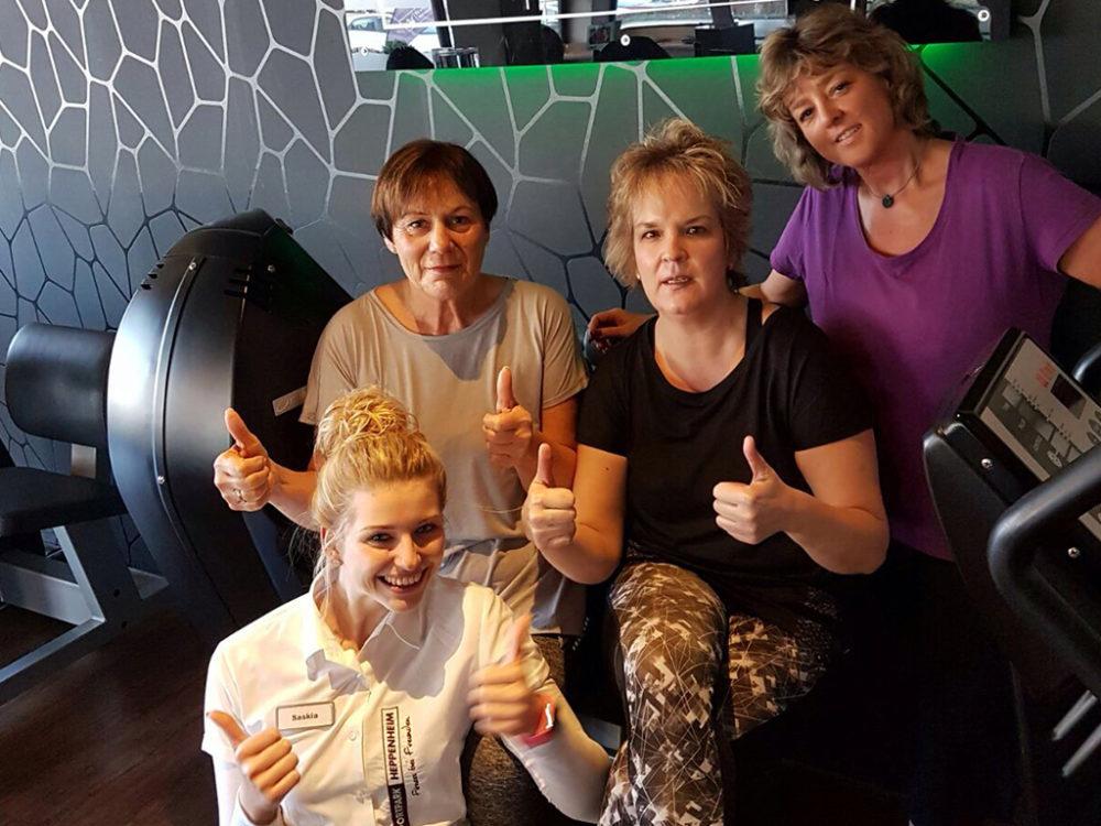 Erfolgsgeschichten Sabine P., Solveig W., Ingrid S. Finest Fitness Club Weinheim