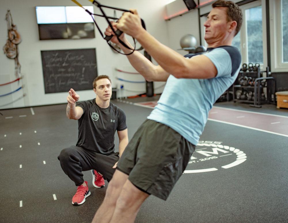Funktional Fitnesstraining TRX Finest Fitness Club Weinheim