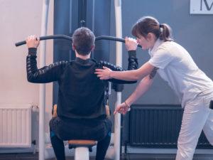 TGS Latzug im Finest Fitness Club Weinheim