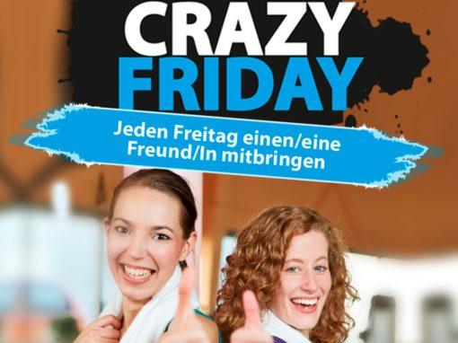 Crazy Friday – Trainieren mit Freunden