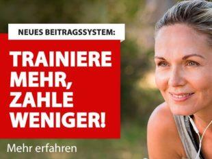 Neues Beitragssystem: Trainiere mehr, zahle weniger!