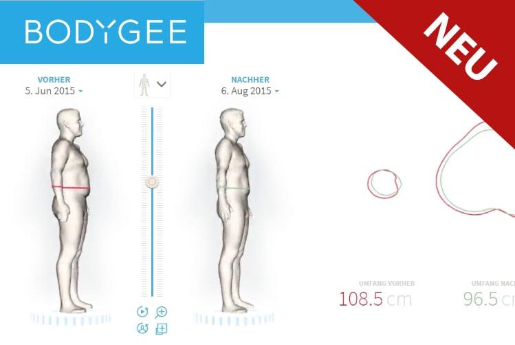 Bodygee – 3D Körperanlyse