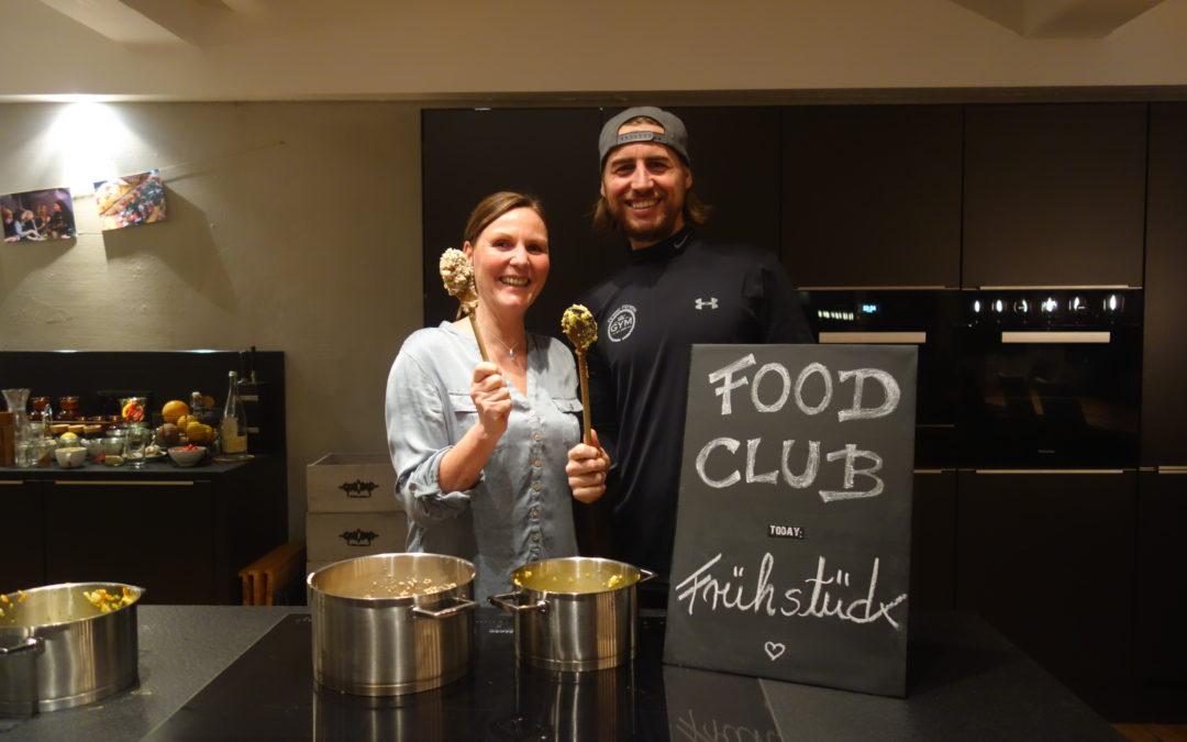 Unser Food Club startet durch!