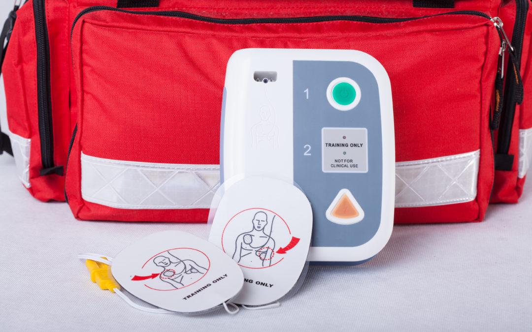 Neuer Defibrillator ab sofort im Einsatz