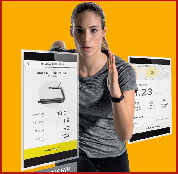 Digitale Trainings-steuerung