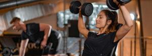 Fitnesstraining Header