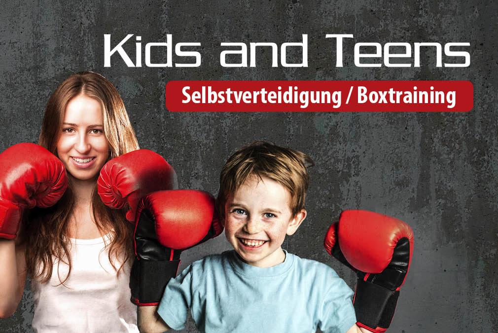 Boxen & Selbstverteidigung für Kids und Teens