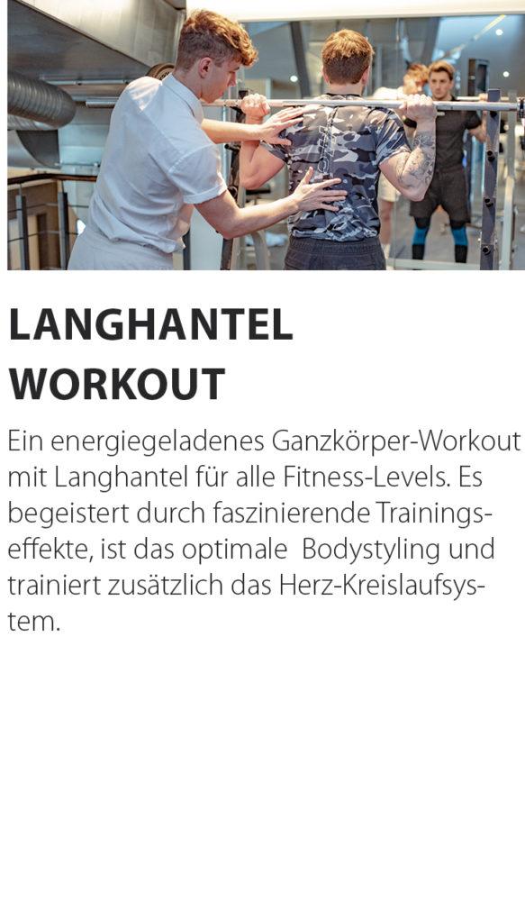 Langhantel Workout