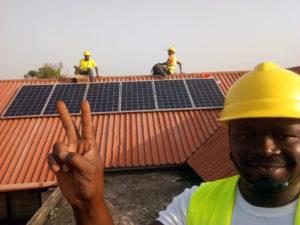 Solarmodule für Afrika