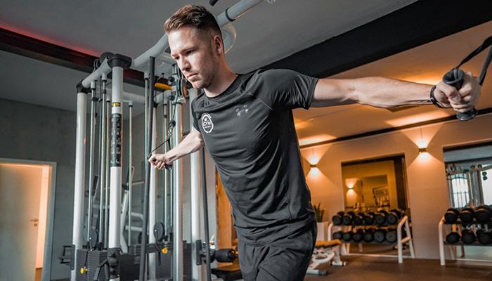 Training im Finest Medical Fitness Club