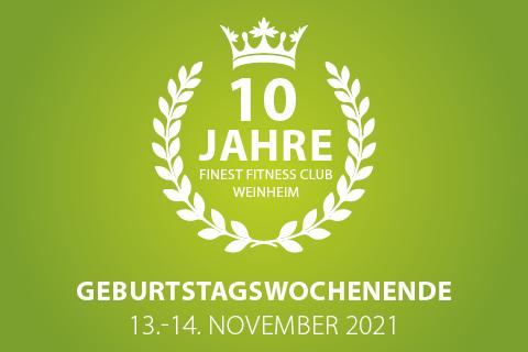 10 Jahre Finest Fitness Club Weinheim