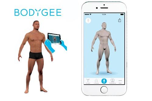Bodygee – 3D Körperanalyse
