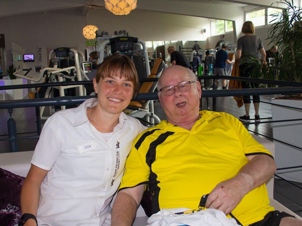 Erfolgsgeschichte Peter A. Finest Fitness Club Weinheim