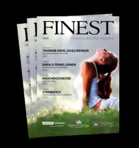 Finest Fitness Club Weinheim Finest Magazin 2017, Fitness & Lifestyle Magazin